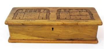 Jerusalem Olivewood case for writing utensils