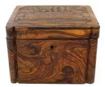 Jerusalem Olivewood box