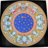 Porcelain plate by Rosenthal and Versace
