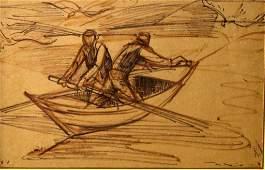 Eliahu Sigard (1901-1975), fishermen