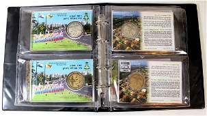 Lot of bronze and silver medals - Cities in Israel