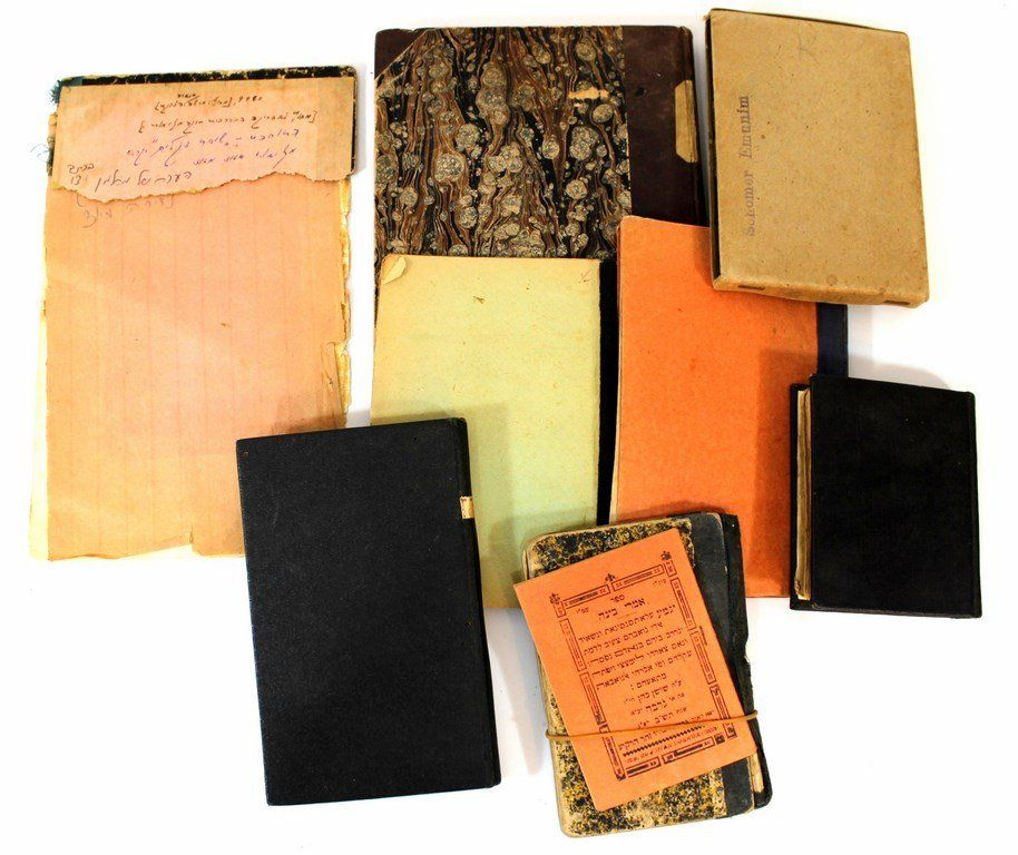 Lot of antique Jewish religious books (Kodesh)