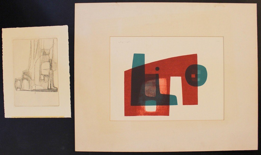 John Byle (1928-), lot of two works