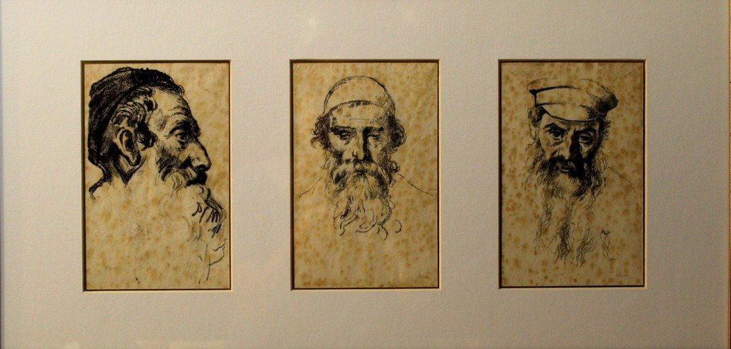 Hermann Struck (1876-1944), lot of three lithographs