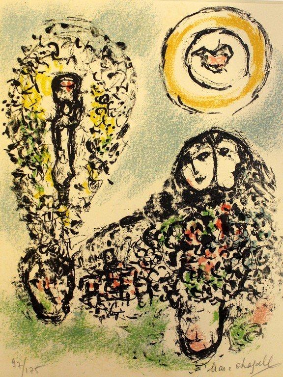 Marc Chagall (1887-1985), La mise en mot
