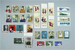 Lot of Chinese stamps - China 1962