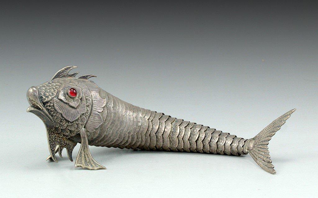 A Spanish silver fish