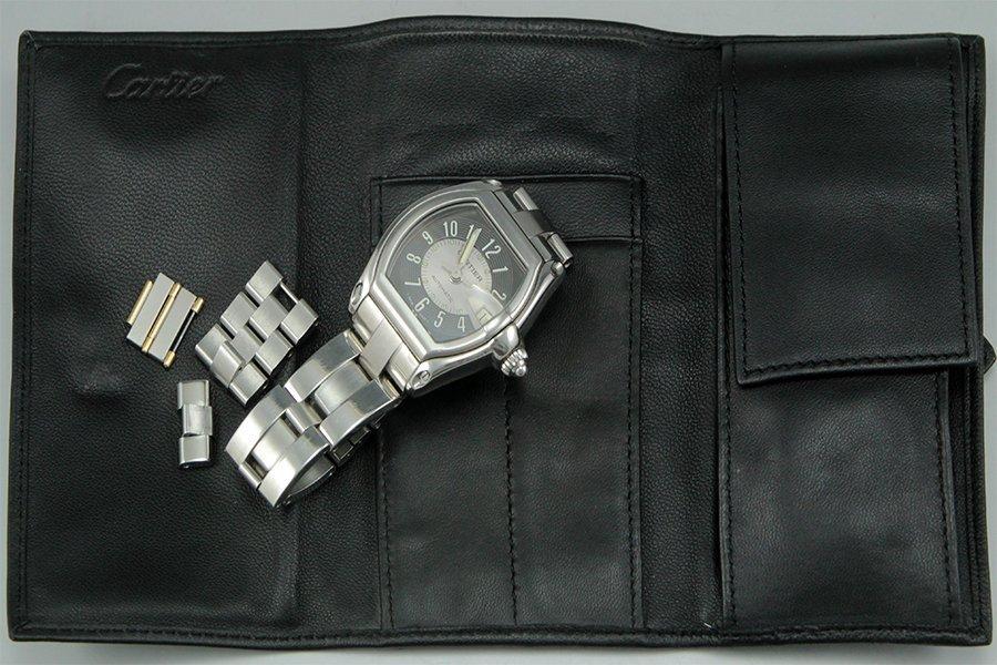 A men's Cartier 'Roadster' watch