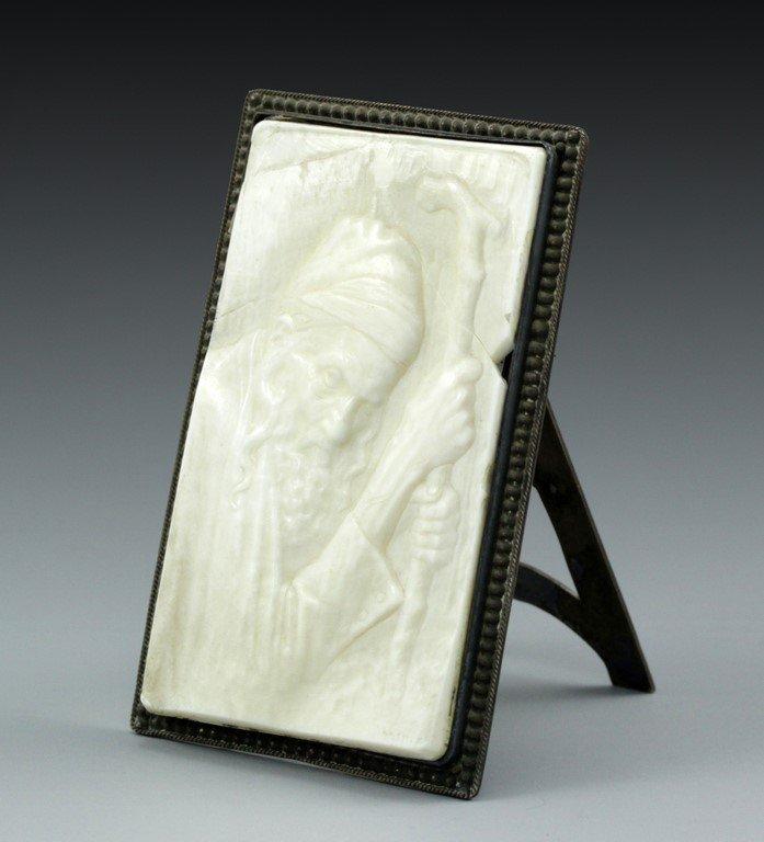 Moshe Murro, carved ivory