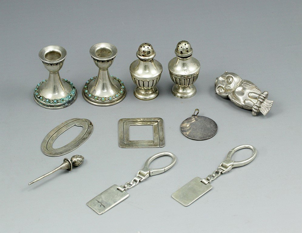 Lot of various silver items