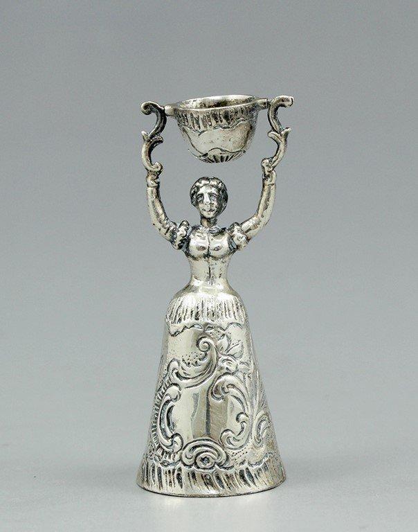 German silver cup