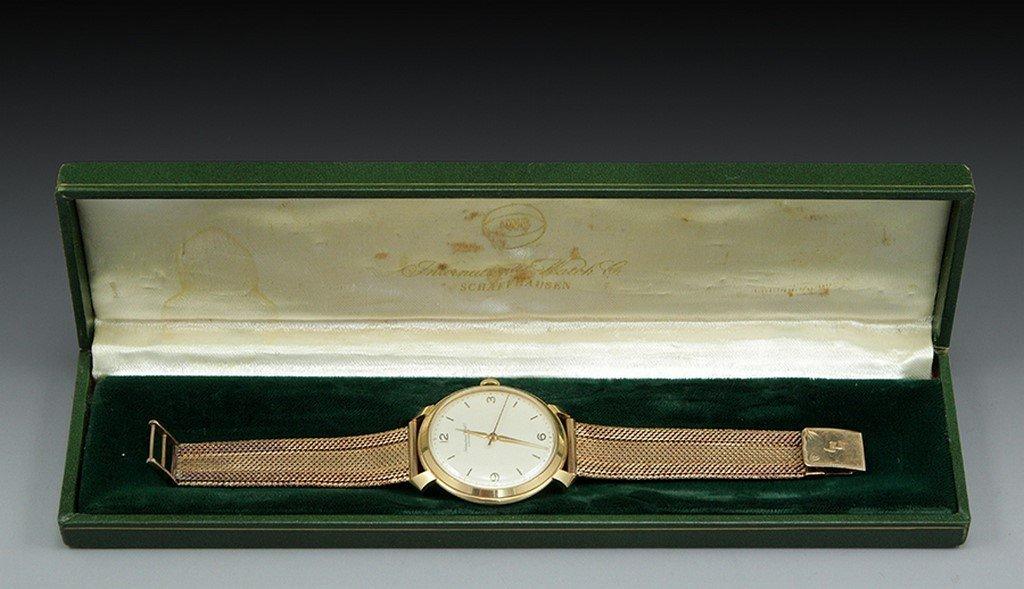 A 18K IWC Schaffhausen men's watch