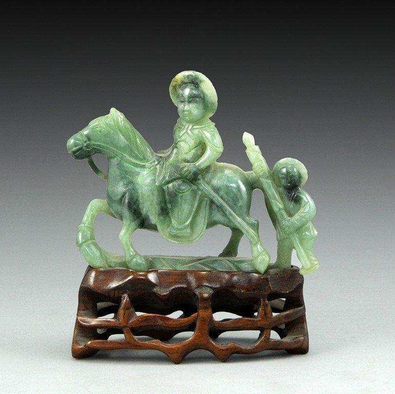 Chinese jade figurine
