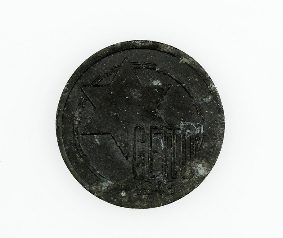 Coin from the Lodz Ghetto