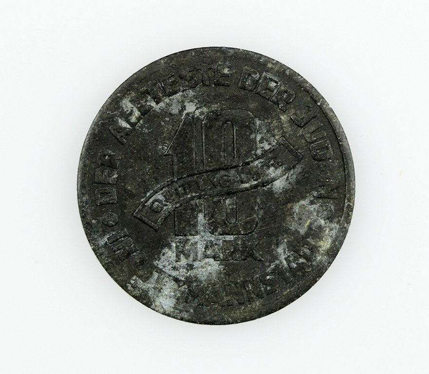 Coin from the Lodz Ghetto - 2
