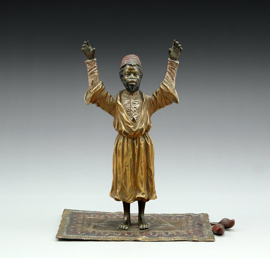 A Vienna bronze figure