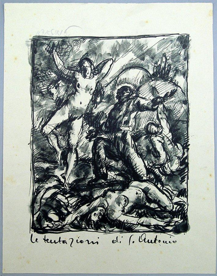 Avigdor Renzo Luisada (1905-1987), Le Tentazioni di S.