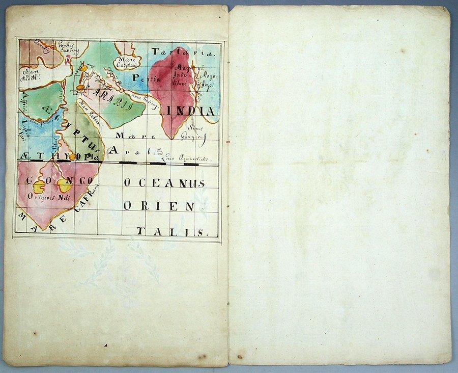 Hebrew-Latin Manuscript, Prague, 1757