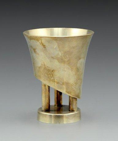Kiddush cup by Boaz Yemini