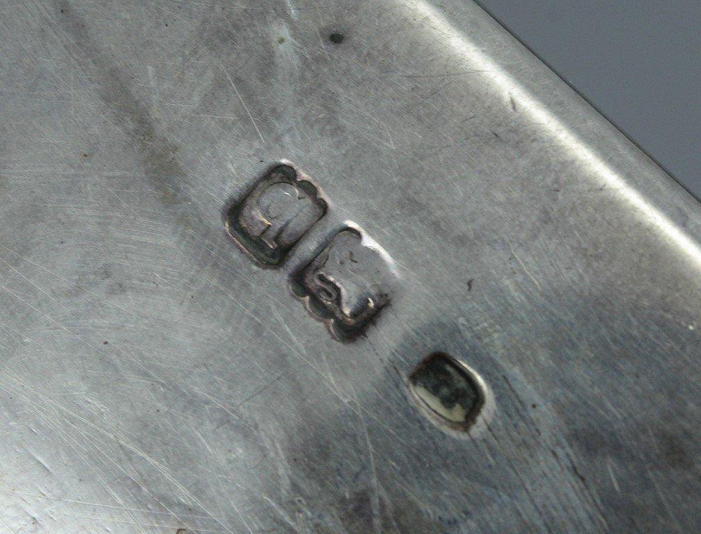 Victorian silver cigar case - 5