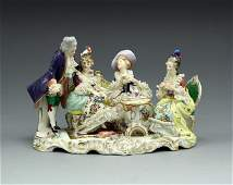 Volkstedt Dresden Porcelain group figurine