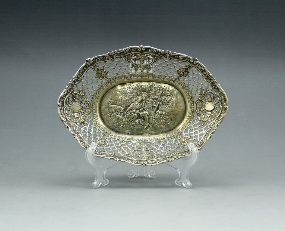 Continental Silver Basket
