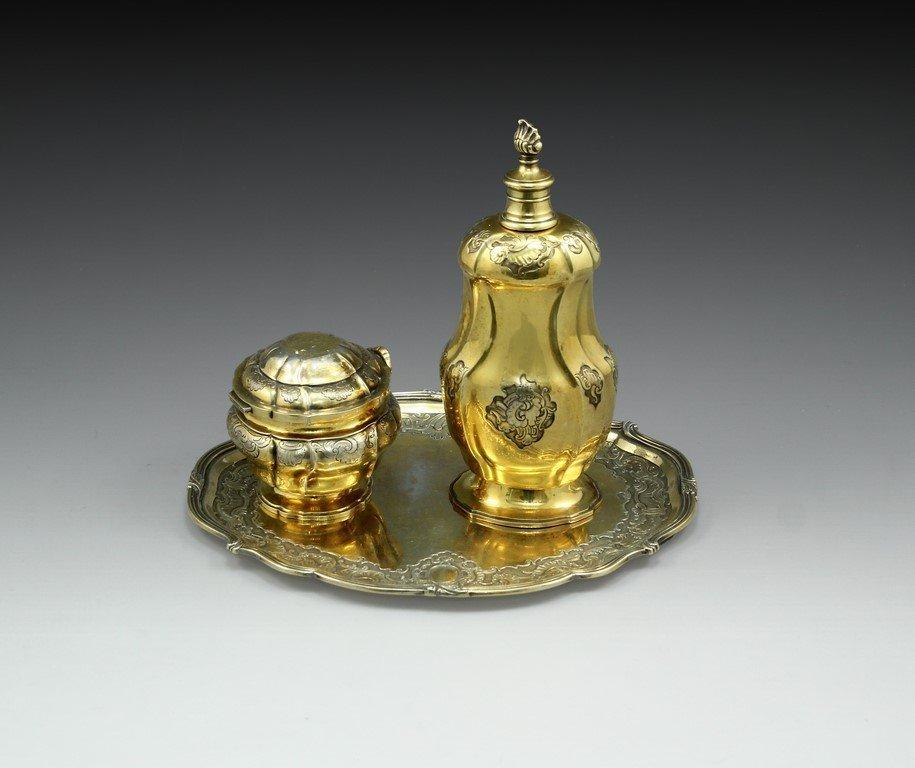 Set of Anton Michelsen Silver Items