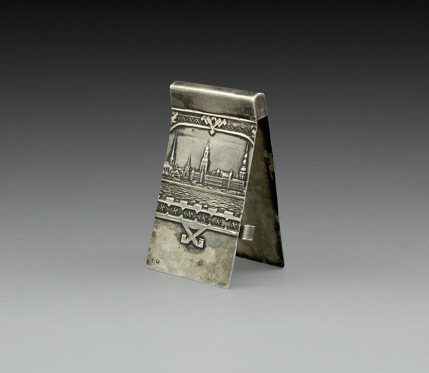 Latvian Silver Notebook Holder