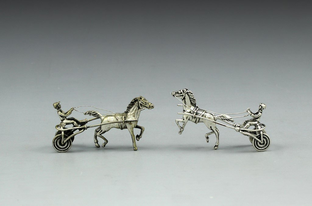 Lot of Silver Miniatures