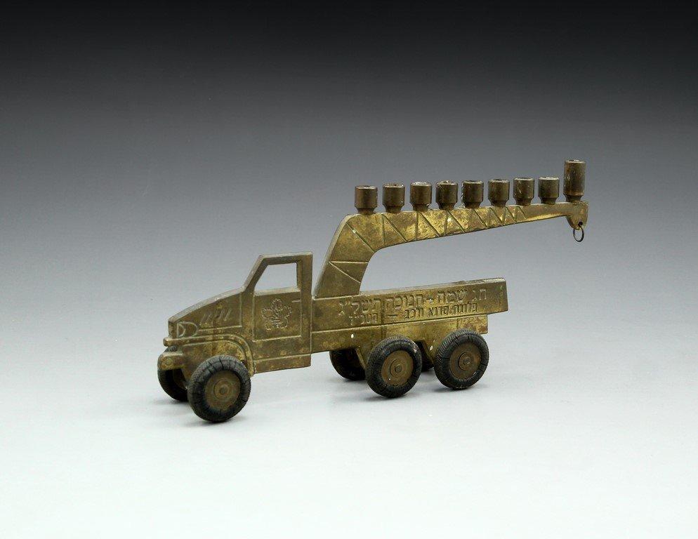 Hanukkah Menorah, IDF Truck - 2