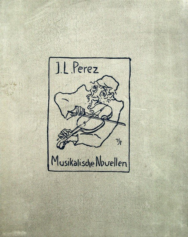 I.L. Peretz, Musikalische Novellen, with lithographs by