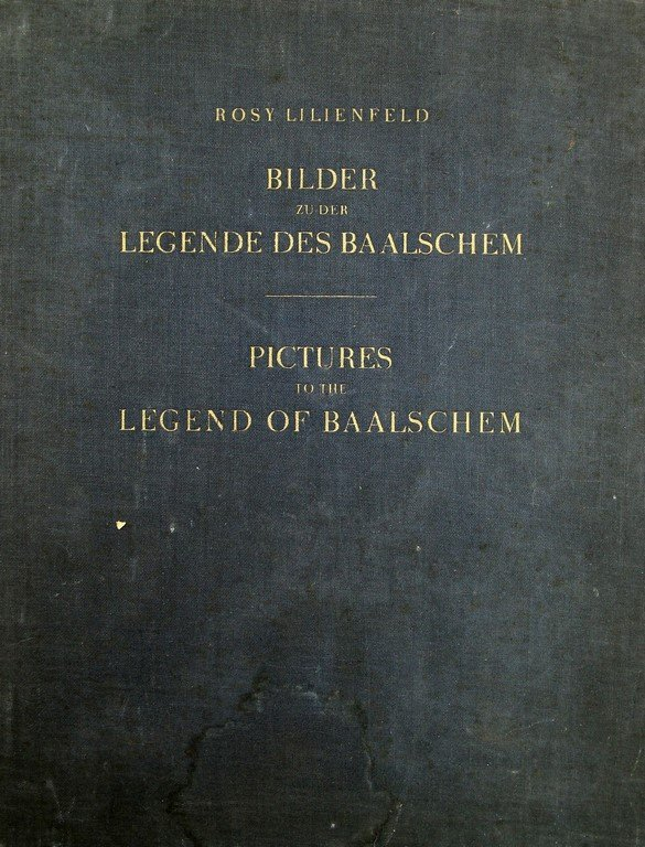 Pictures to the legend of the Baalschem