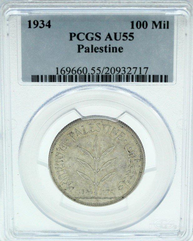 100 Mils Coin, Palestine
