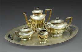German Silver CoffeeTea Set
