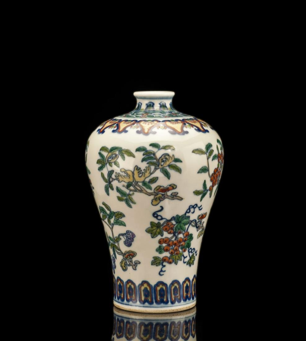 Flower Porcelain Vase