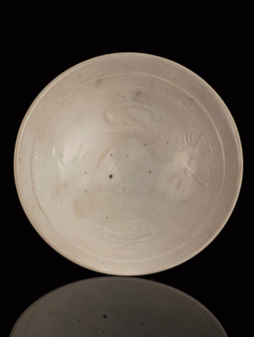 White Glazed Porcelain Bowl