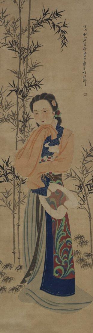 Chinese Portrait Painting ZhangDaQian (1899-1983)
