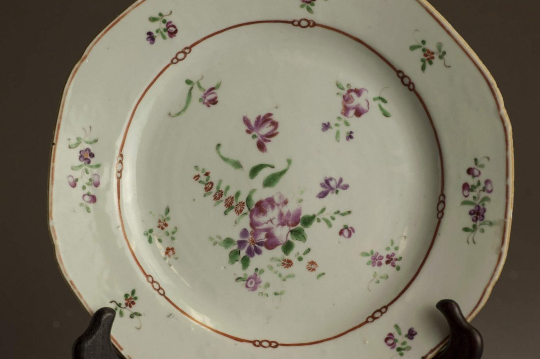 Chinese Qing Dynasty Colourful Painting Plate - 3