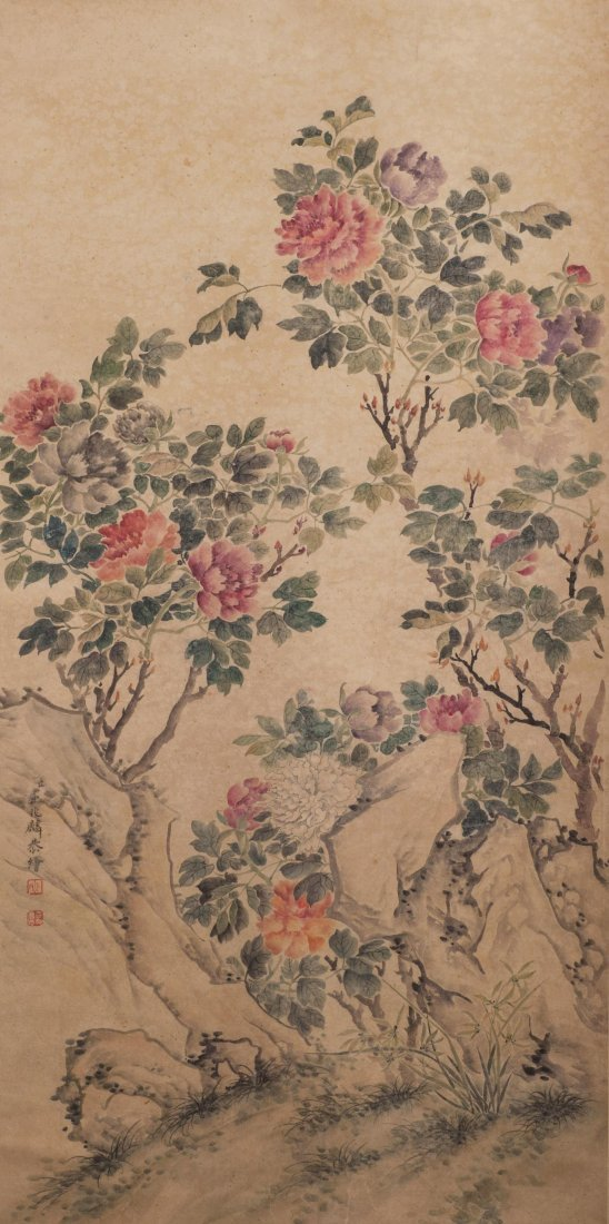 Flower Painting Quzhaoling(1866-1937)