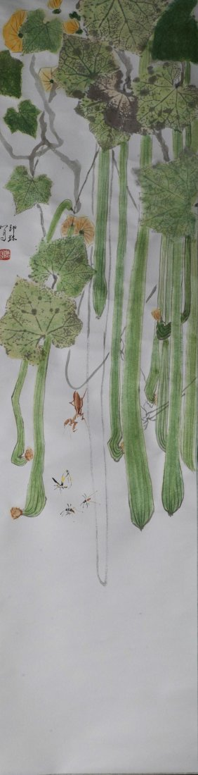 Plant and Insects Painting