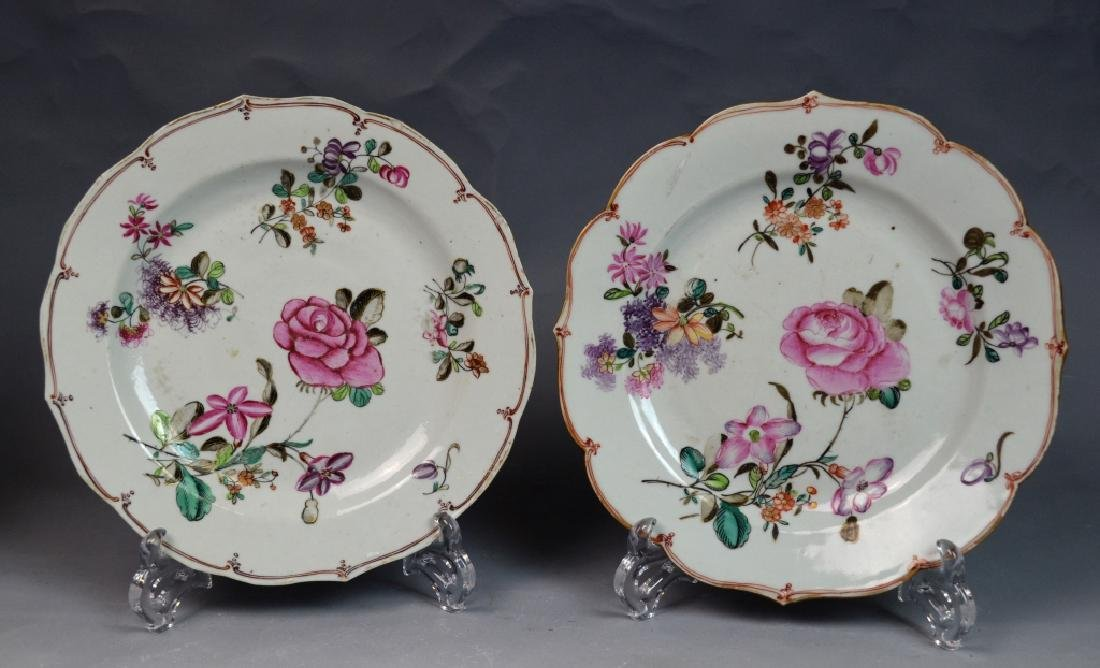 Two Pairs of Chinese Famille Rose Porcelain Plates - 7