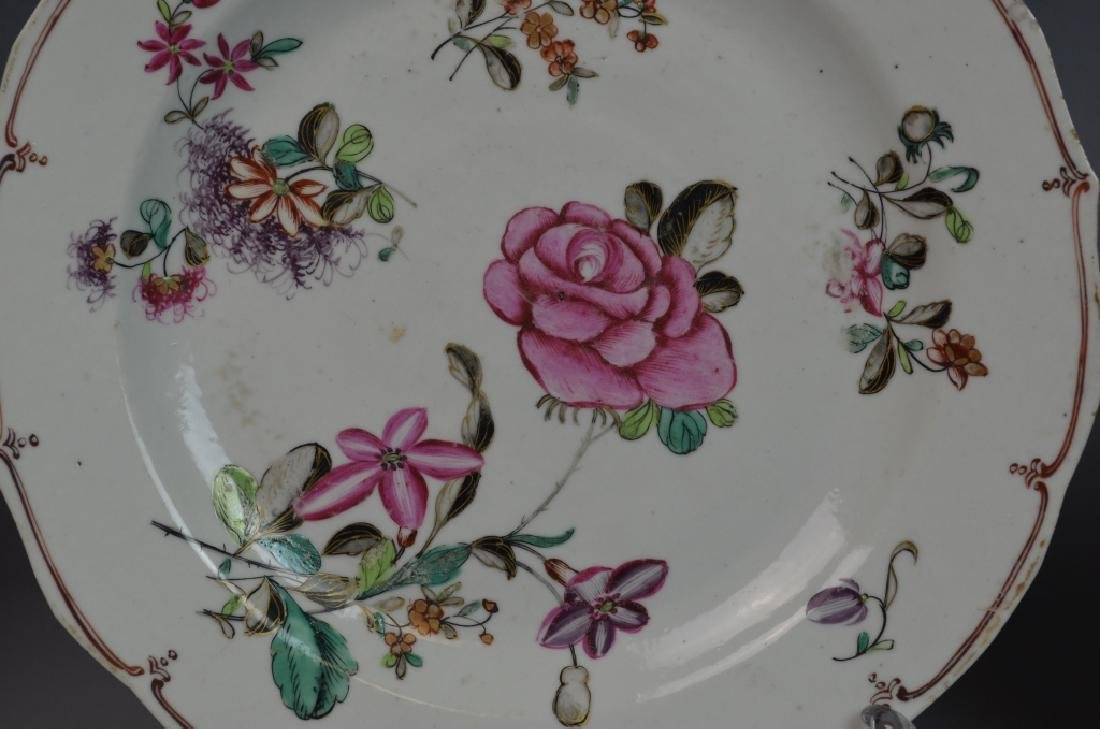 Two Pairs of Chinese Famille Rose Porcelain Plates - 8
