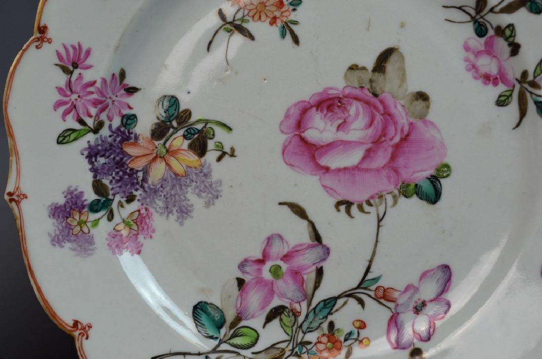 Two Pairs of Chinese Famille Rose Porcelain Plates - 9