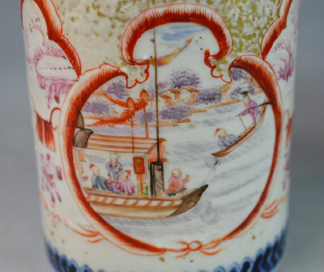 3 Pieces Chinese Export Porcelain Mugs - 3