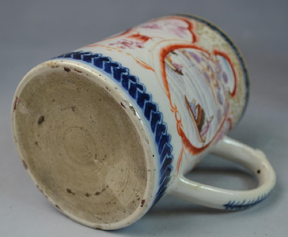 3 Pieces Chinese Export Porcelain Mugs - 5
