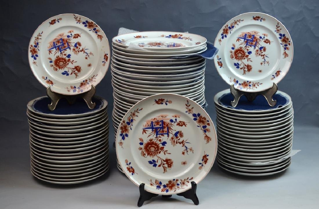 80 Pieces Dinner Ware Plates by Mottahedeh