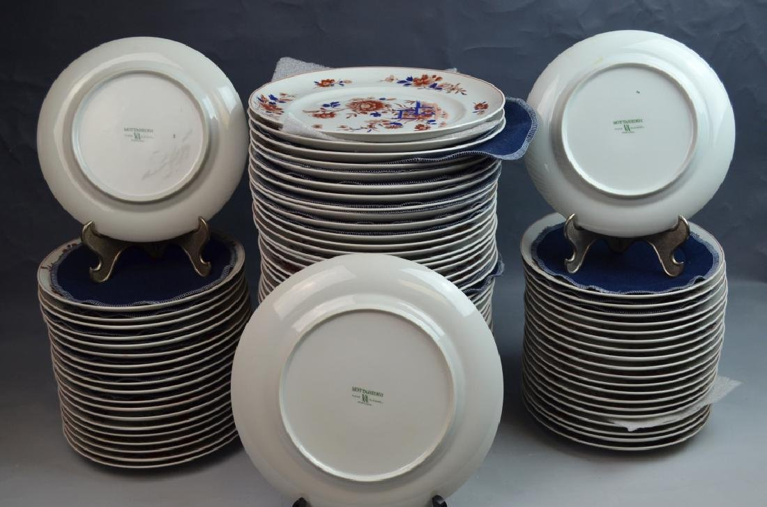 80 Pieces Dinner Ware Plates by Mottahedeh - 4