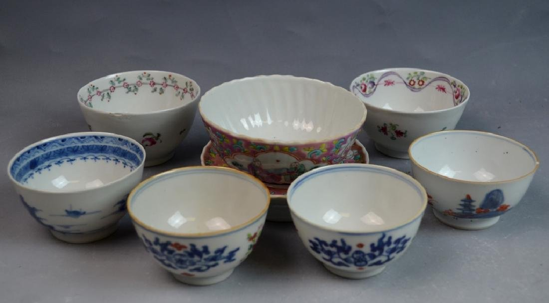 7 Pieces Chinese Porcelain Cups