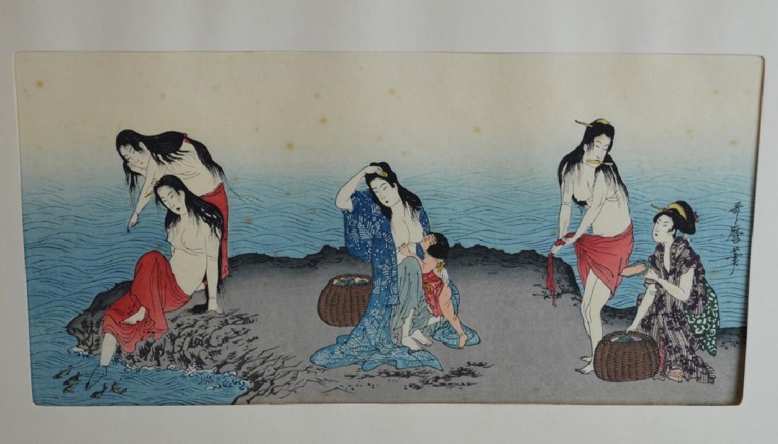 4 Japanese Wood Block Prints - 2
