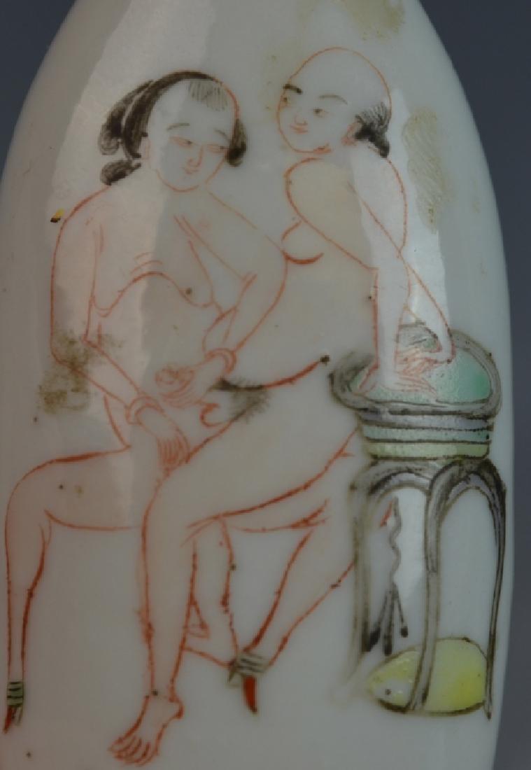 2 Chinese Erotic Snuff Bottles - 5